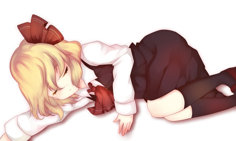 寝ルーミア-23