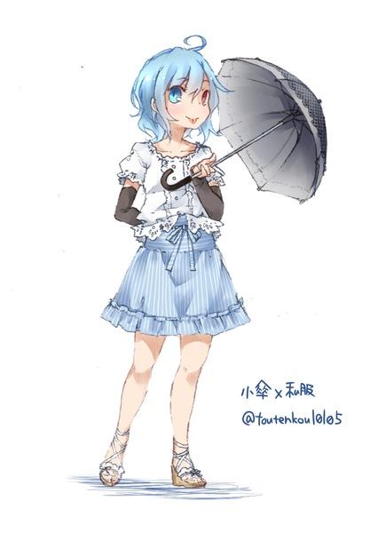 多々良小傘衣装チェンジ-09