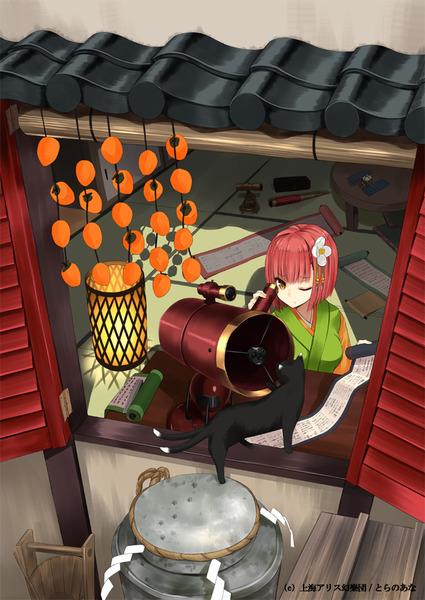 稗田阿求と和室-26