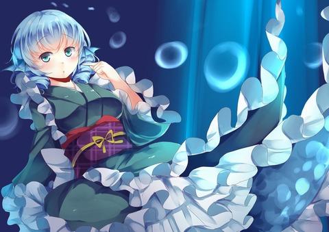 わかさぎ姫水中2-21