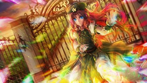 紅美鈴と門-02