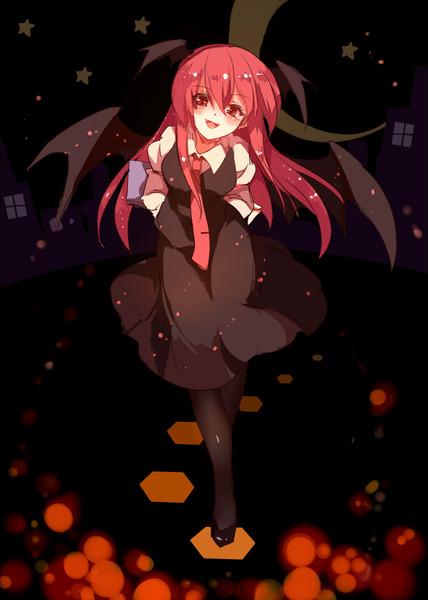 小悪魔と黒タイツ-48
