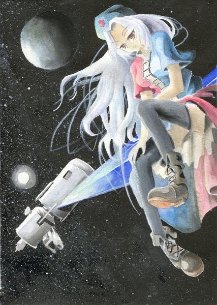 八意永琳と月-32