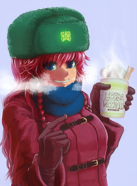 紅美鈴冬服-15