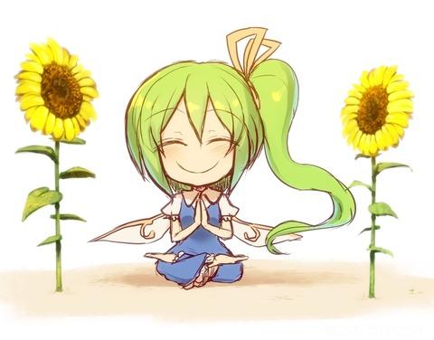 大妖精と花-35