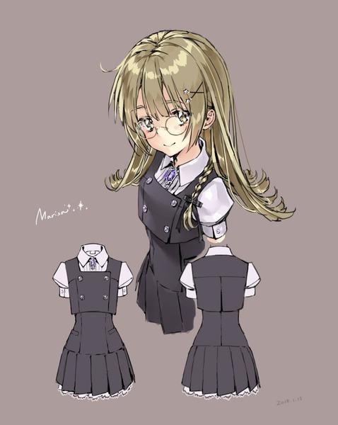 霧雨魔理沙制服-22