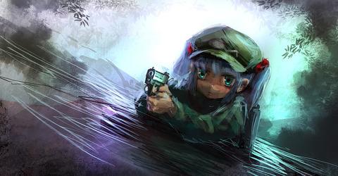 河城にとりと銃-45