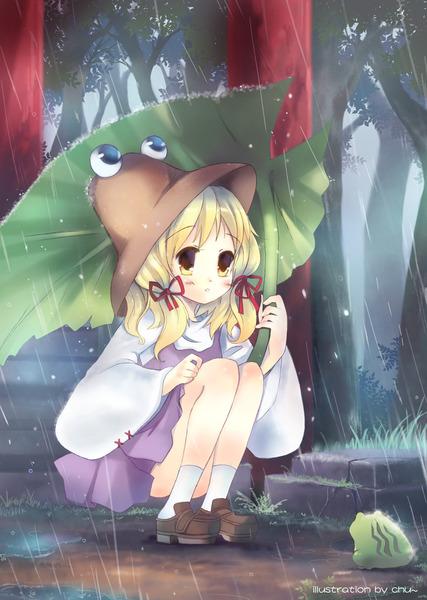 洩矢諏訪子と葉っぱ傘-18