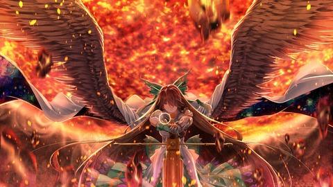 霊烏路空と炎-41