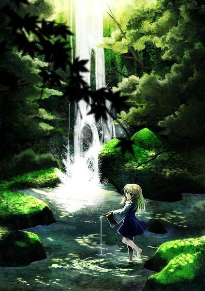 洩矢諏訪子と森-02