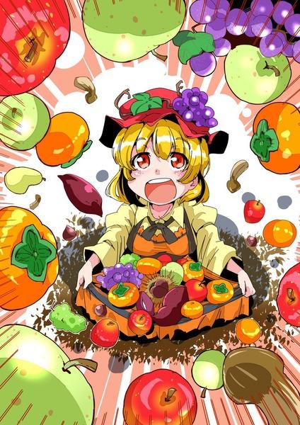 秋穣子と食べ物-25