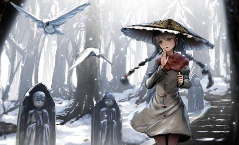 矢田寺成美と雪-51