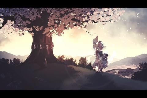 幽々子桜2018-42