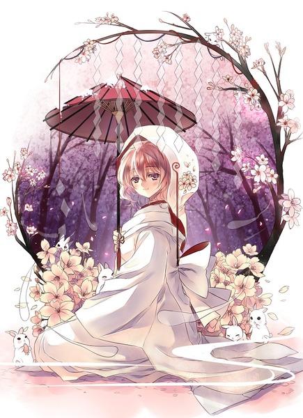 西行寺幽々子と和傘-04