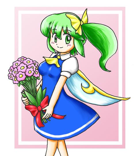 大妖精と花-46