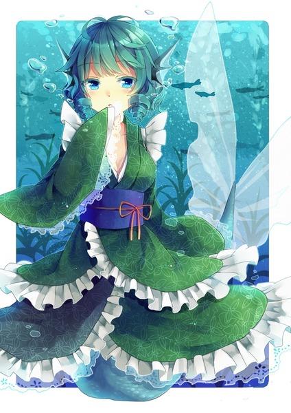 わかさぎ姫と魚-08