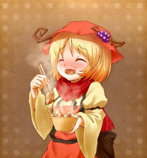秋穣子と食べ物-15