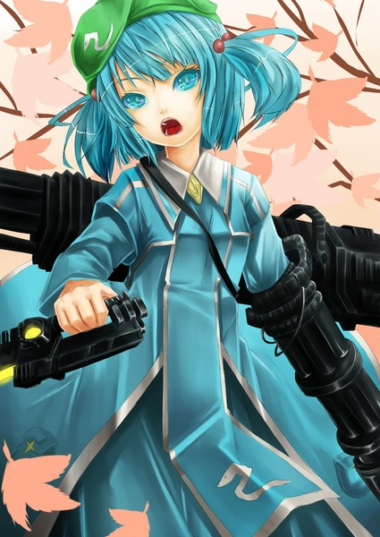 河城にとりと銃-16