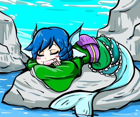 わかさぎ姫水辺-08