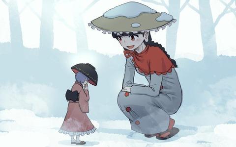 矢田寺成美と雪-22