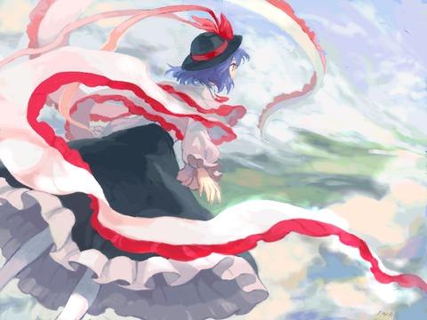 衣玖さんと空-09