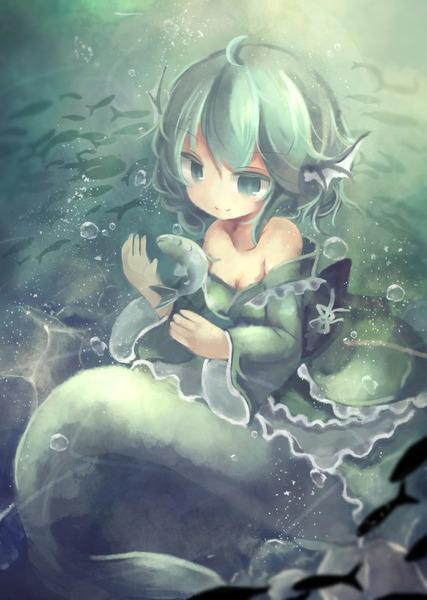 わかさぎ姫と魚-25