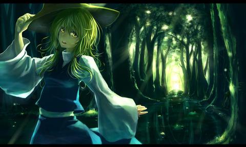 洩矢諏訪子と森-10