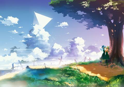 大妖精と青空-22
