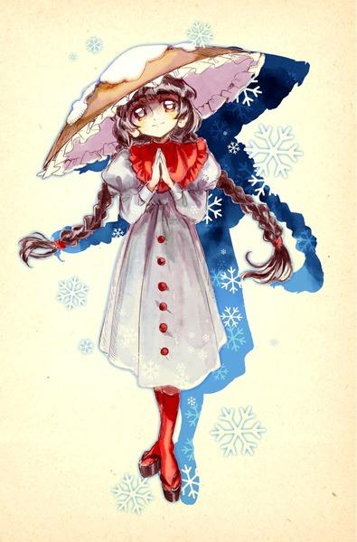 矢田寺成美と雪-10