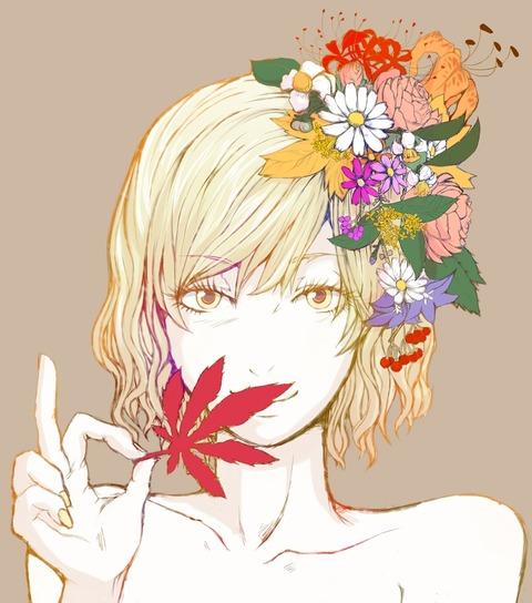 東方花飾り-44