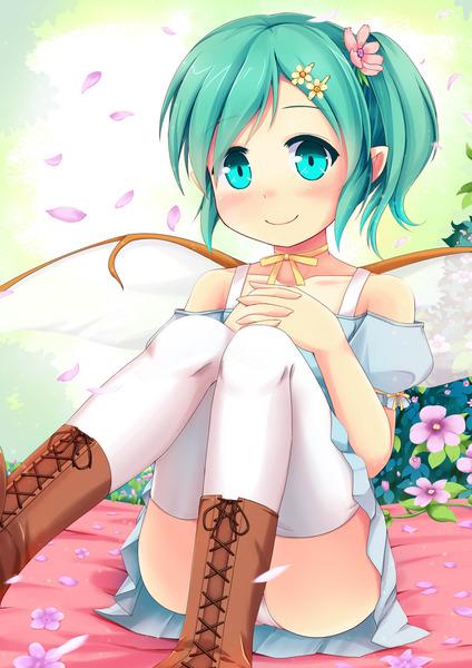 大妖精と花-0