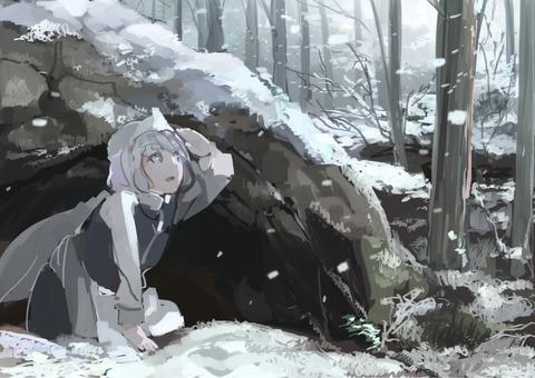 レティと雪-09