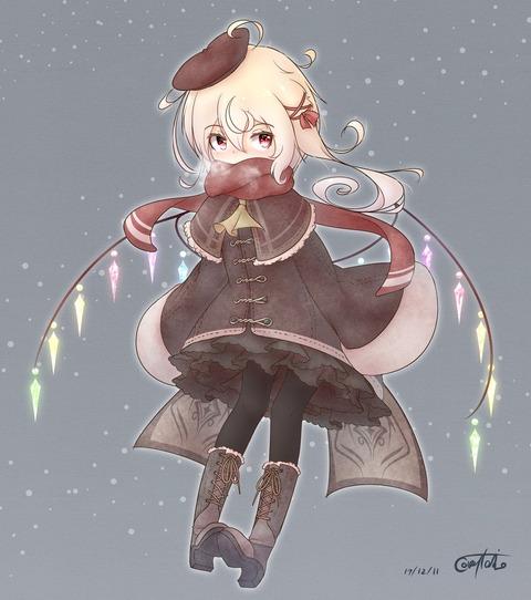 フランと冬服-01
