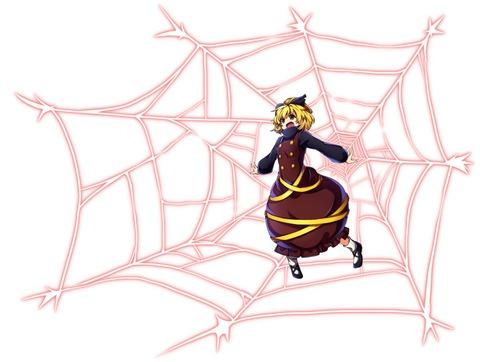 ヤマメ蜘蛛の巣2-16