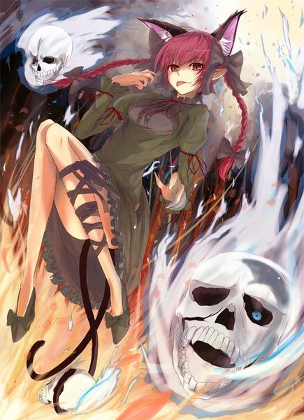 火焔猫燐と髑髏-01