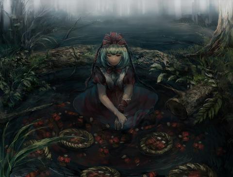 鍵山雛と森-08