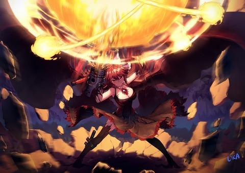 霊烏路空と炎-21