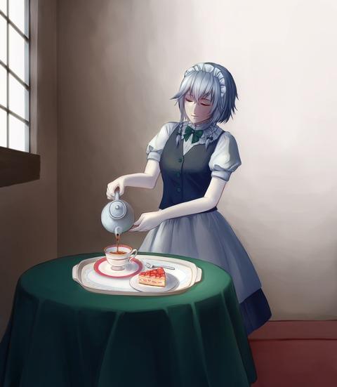 十六夜咲夜と紅茶-40