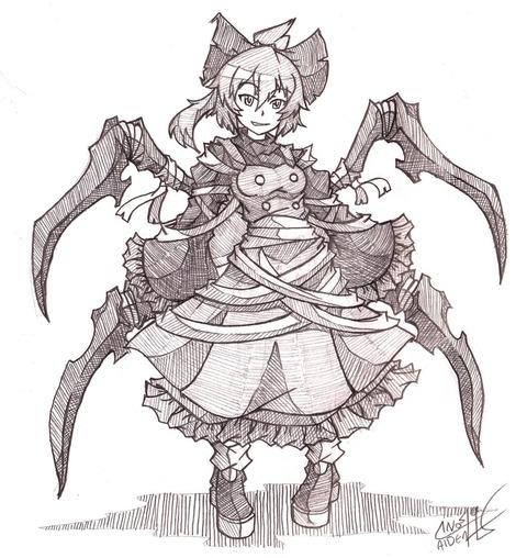 黒谷ヤマメ蜘蛛-21