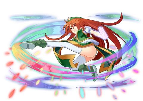 紅美鈴とキック-09