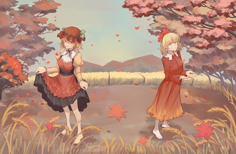 秋姉妹と秋2017-28