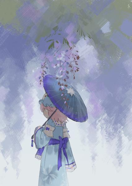 西行寺幽々子と和傘-47