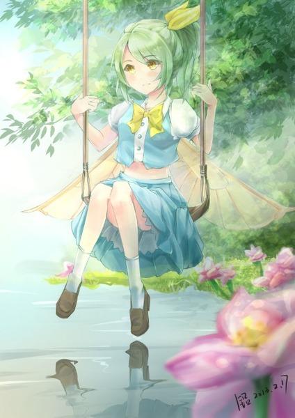 大妖精と花-20