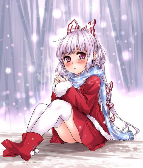 妹紅別衣装-44