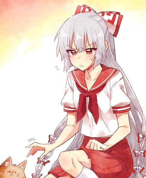 藤原妹紅スカート-03