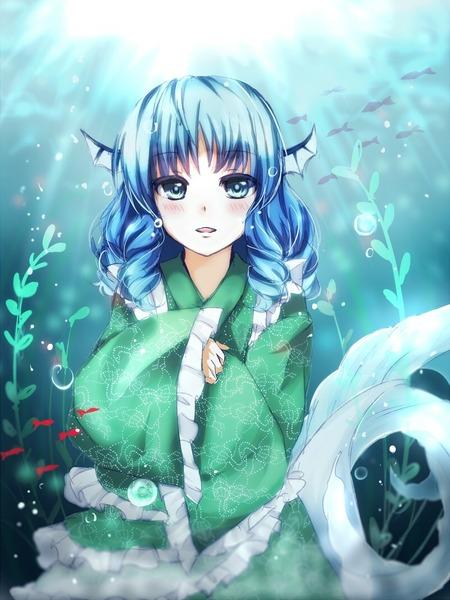 わかさぎ姫と魚-31
