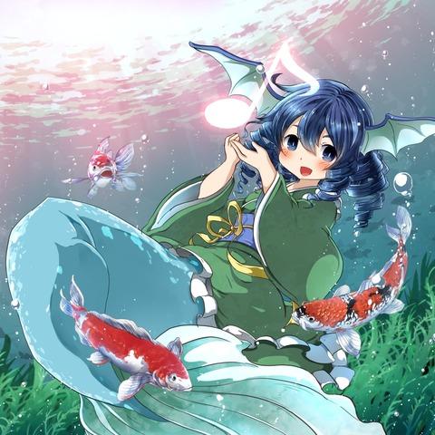 わかさぎ姫と魚-37