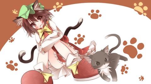 橙と猫-01