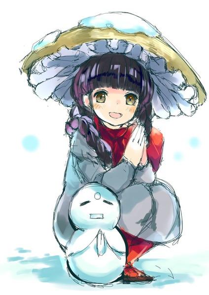 矢田寺成美と雪-32