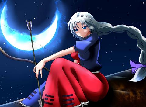 八意永琳と月-48